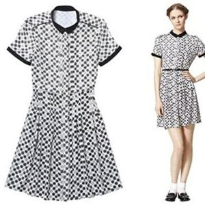 Jason Wu for Target Dot Print Shirt Dress in Cream